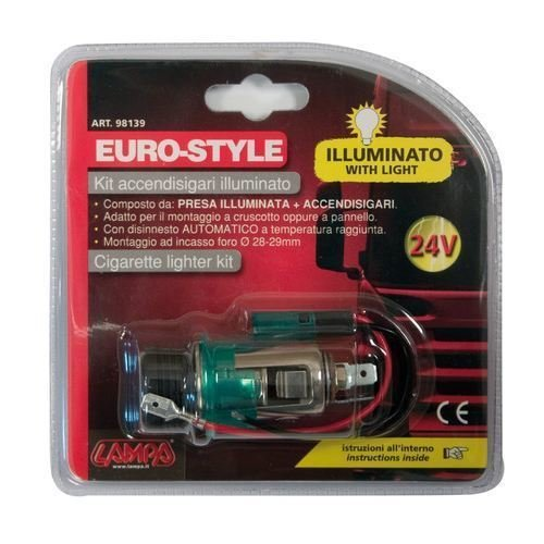 Bricheta completa iluminata Euro-Style 24V 2