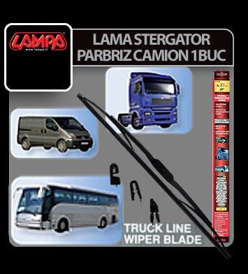 Stergator parbriz Truck Line 70cm cu duza 1buc