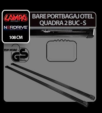 Bare portbagaj otel Quadra, 2 buc - S - 108 cm
