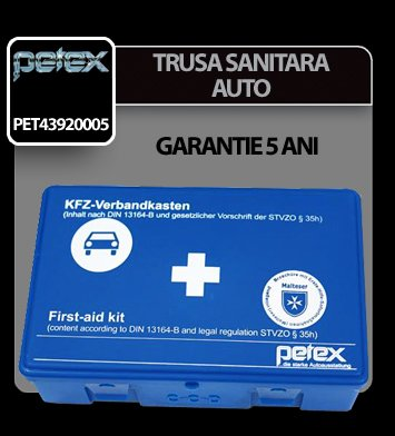 Trusa sanitara auto Petex