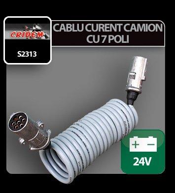 Cablu curent camion cu 7 poli 24V