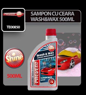 Sampon auto cu ceara Wash & Wax Prevent 500 ml