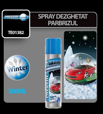 Spray dezghetat parbrizul Prevent 300 ml