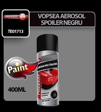 Vopsea pentru spoiler negru aerosol Prevent 400 ml