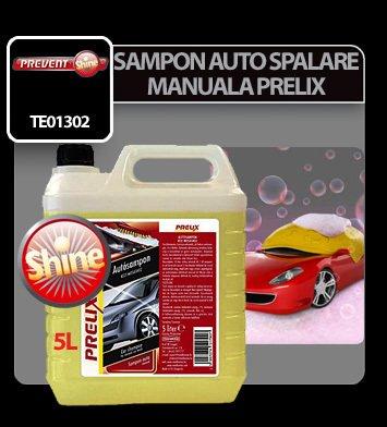 Sampon auto pentru spalare manuala Prelix 5 litri