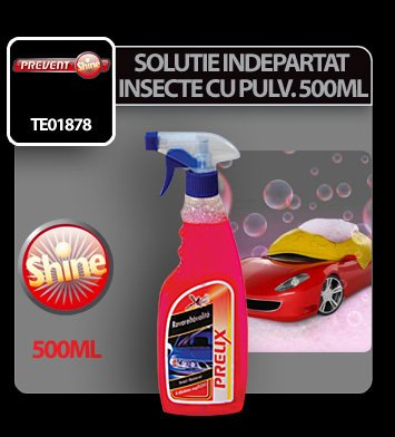 Solutie pentru indepartat insecte cu pulv. Prelix 500 ml