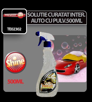 Solutie pentru curatat interiorul auto cu pulv. Prelix 500ml