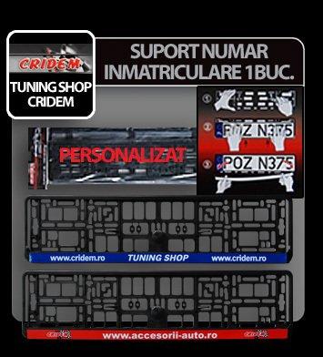 Suport numar inmatriculare Accesorii Auto / Tuning Shop 1buc