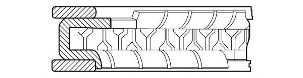 Segment piston
