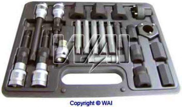 Set scule montaj, fulie alternator cu cuplaj unisens