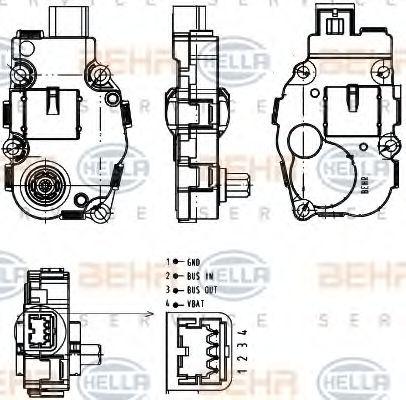 Element de reglare, clapeta carburator