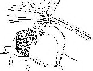Aripa interioara